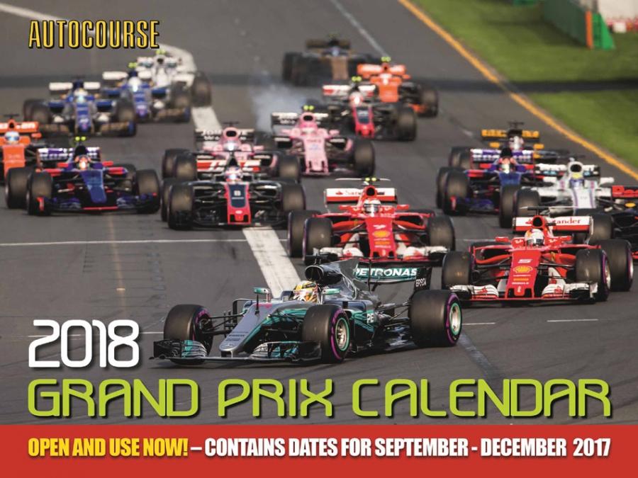 2018 Autocourse F1 Grand Prix Calendar | eBay