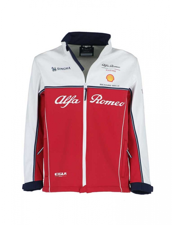 alfa romeo racing replica team softshell jacket af9412. Black Bedroom Furniture Sets. Home Design Ideas