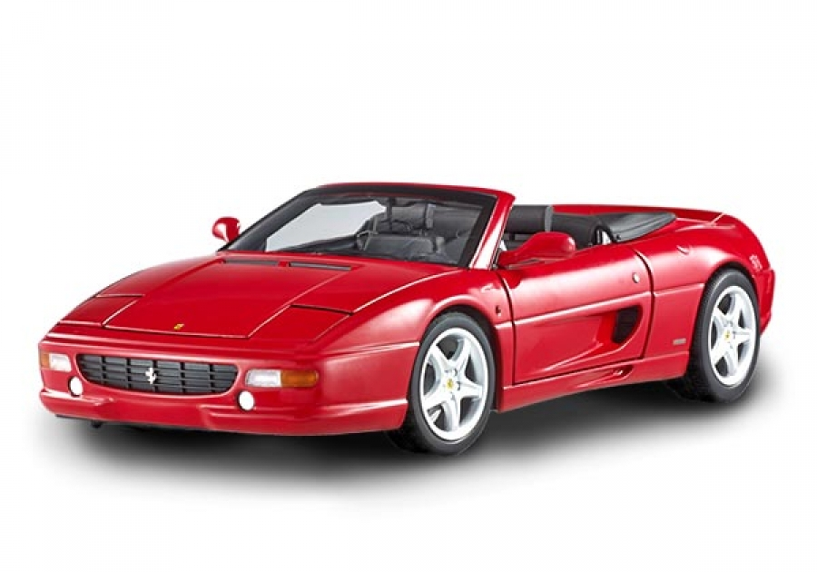 ferrari f355 spider red hotwheels elite 1 18th dh4820. Black Bedroom Furniture Sets. Home Design Ideas