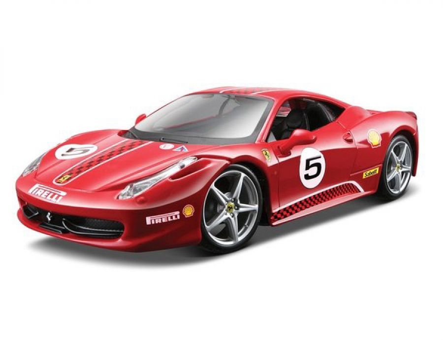 ferrari 458 challenge bburago 1 24th 4893993263028 ebay. Black Bedroom Furniture Sets. Home Design Ideas