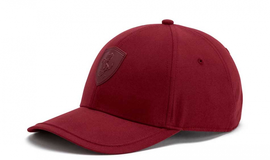 926cc426d5a5c ... get puma ferrari ls shield maroon hat b853c d43f3
