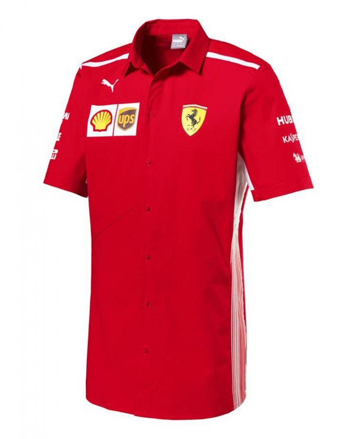 Puma Ferrari Replica Team Shirt- FR8611