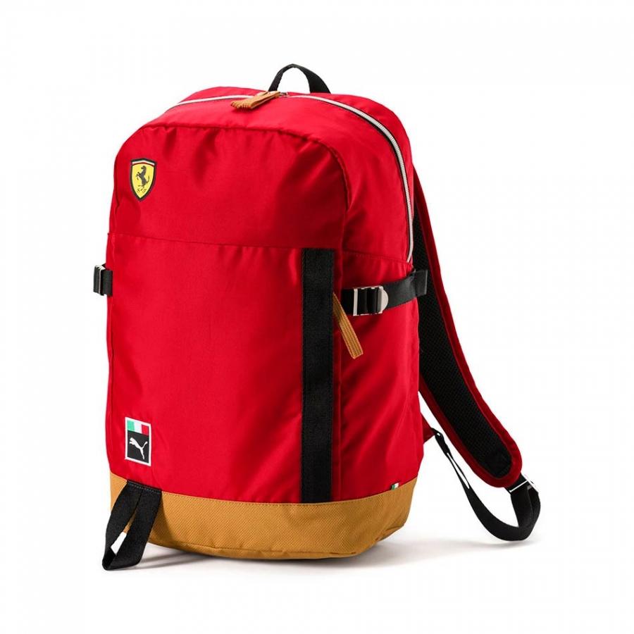 3063908efc Scuderia Ferrari Fanwear Red Backpack 191241128537