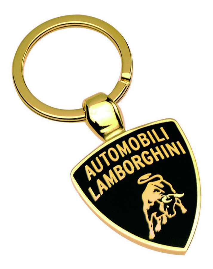 Lamborghini Gold Logo Keychain Lb7915