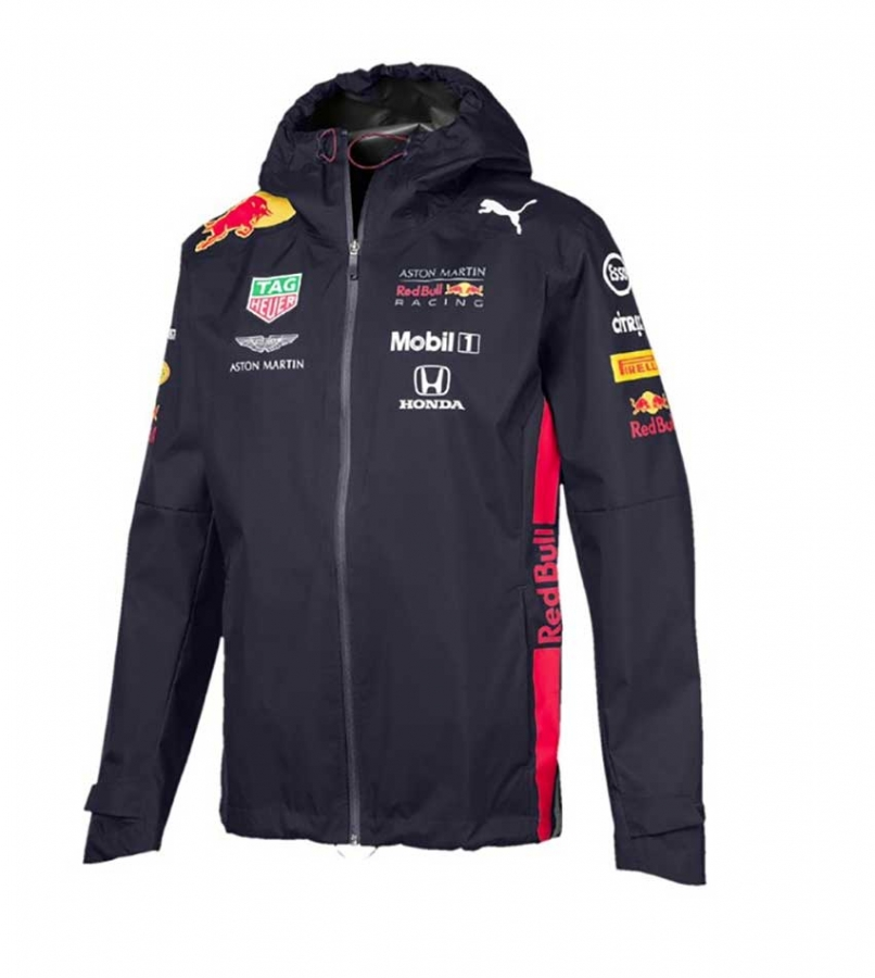 Details about Puma Red Bull Racing F1 Team Rain Jacket