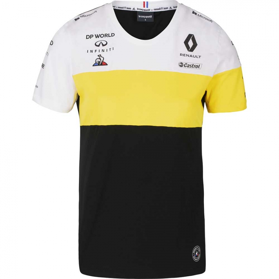 Renault F1 Mens Crew Sweatshirt Black