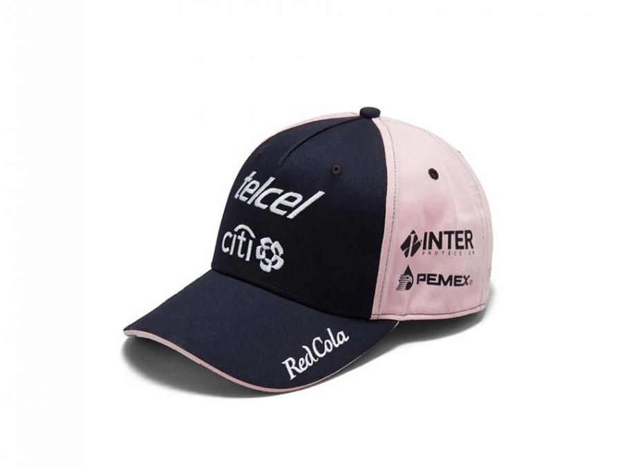 Sahara Force India Sergio Perez Team Pink Hat Sf8512