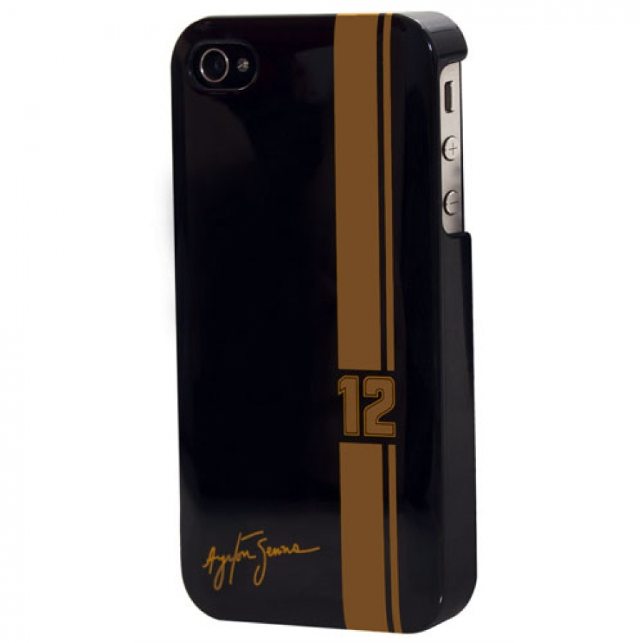 Ayrton Senna iPhone 4 Black Plastic Case- SS2917