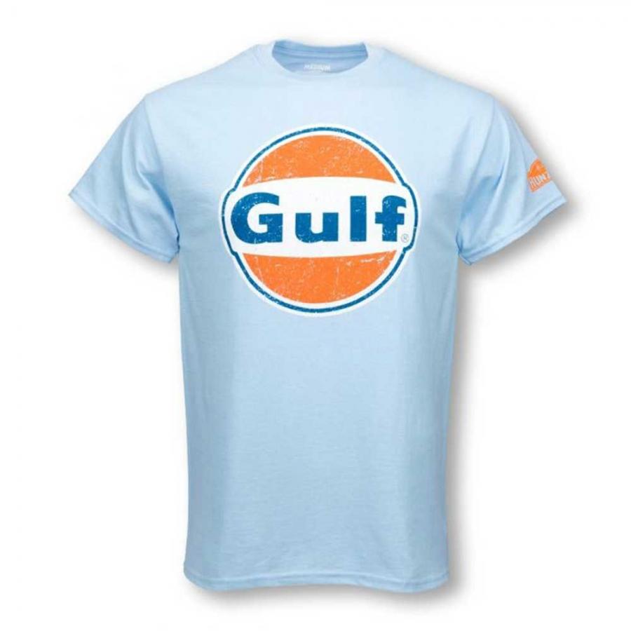 Hunziker Gulf Racing Logo Tee Shirt Ebay