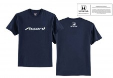 Honda Accord Navy Logo Tee